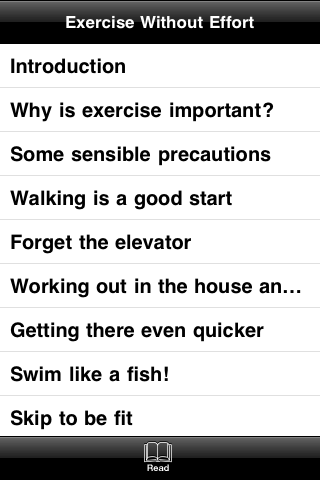 Exercise Without Effort screenshot #4