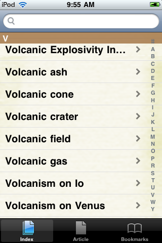 Volcanoes Study Guide screenshot #2