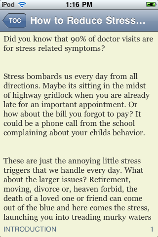 How to Reduce Stress at Work and at Home screenshot #2