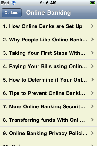 Online Banking screenshot #2