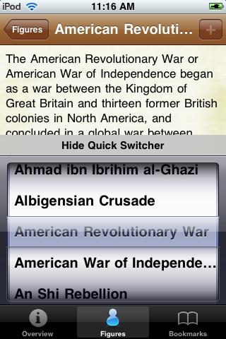 Historical Wars Pocket Book screenshot #3