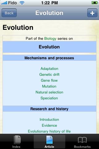 Evolution Study Guide screenshot #1
