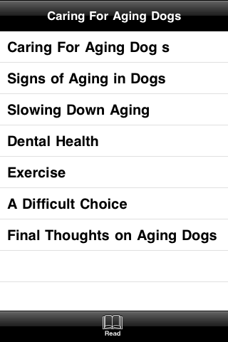 Caring For Aging Dogs screenshot #3