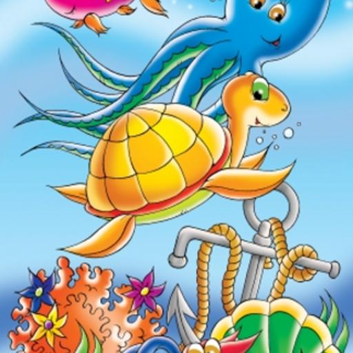 Under the Sea Slide Puzzle