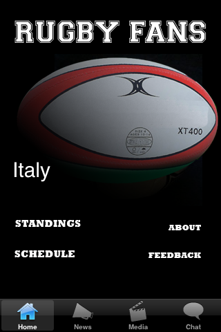 Rugby Fans - Italy screenshot #1