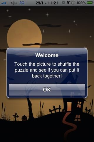 Haunted House Slide Puzzle screenshot #3