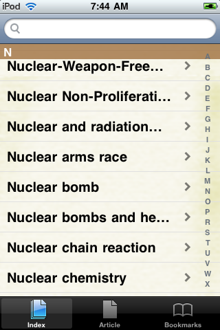 Nuclear Weapons Study Guide screenshot #2