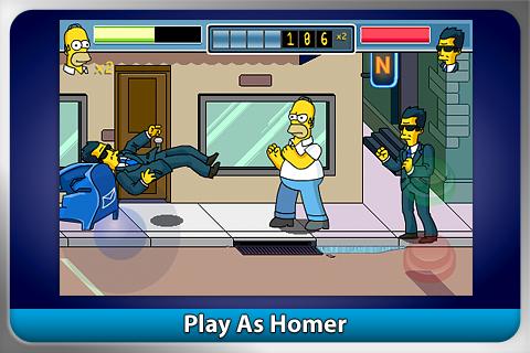 The Simpsons Arcade FREE screenshot 1