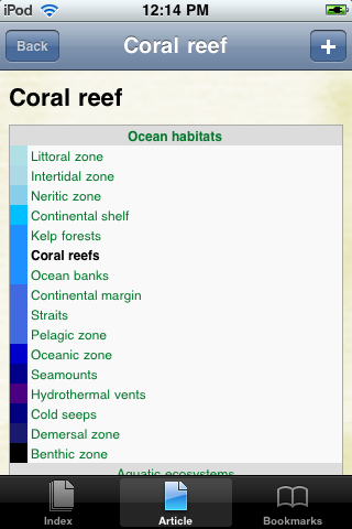 Coral Reefs Study Guide screenshot #1