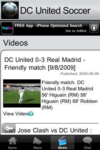 Soccer Fans - DC U screenshot #2