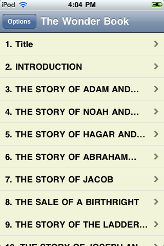 Wonder Book of Bible Stories screenshot #2