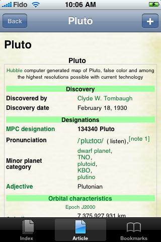 Pluto Study Guide screenshot #1