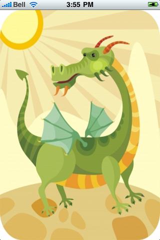 Magic Dragon Slide Puzzle screenshot #1