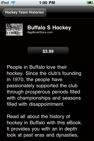 Hockey Team Histories screenshot #4