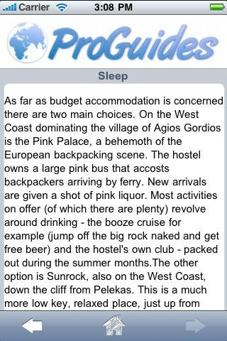 ProGuides - Corfu screenshot #2