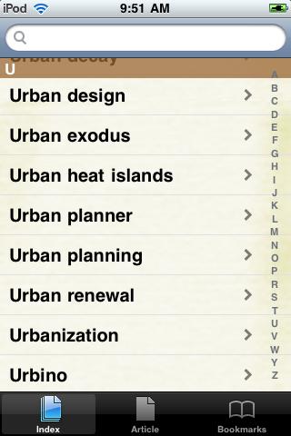 Urban Planning Study Guide screenshot #2