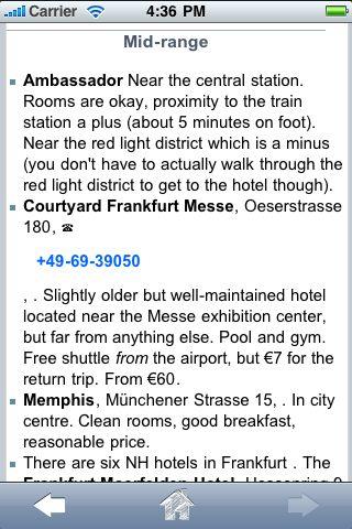 ProGuides - Frankfurt screenshot #2