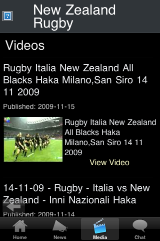 Rugby Fans - New Zealand screenshot #3