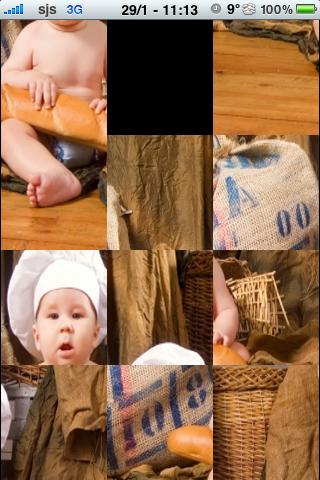 Baby Chef Slide Puzzle screenshot #2