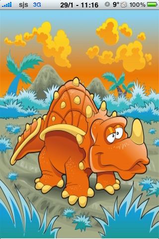Dinosaur Slide Puzzle screenshot #1