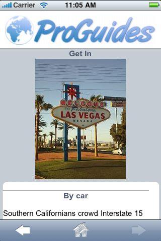 ProGuides - Las Vegas screenshot #3