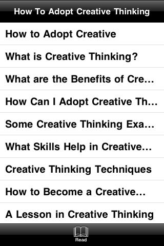 How To Adopt Creative Thinking screenshot #4