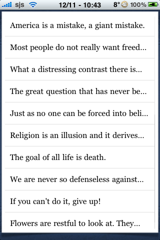 Sigmund Freud Quotes screenshot #2