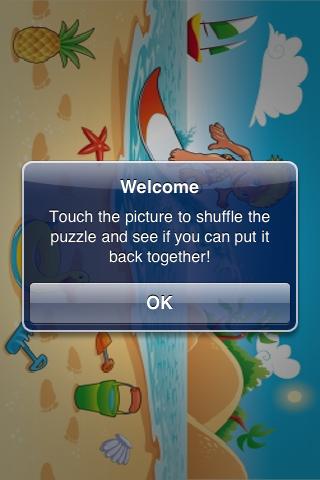 Surfer Slide Puzzle screenshot #3