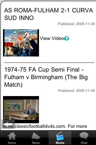 Football Fans - East Fife screenshot #4