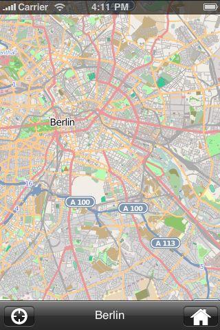 iMapsPro - Berlin screenshot #1