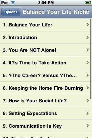 How To Balance Your Life screenshot #2