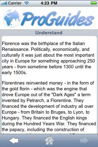 ProGuides - Florence screenshot #3