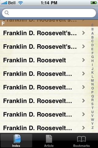 Franklin Roosevelt Study Guide screenshot #3