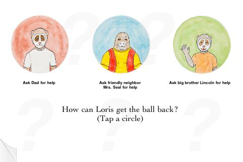 Loris and the Runaway Ball screenshot 3