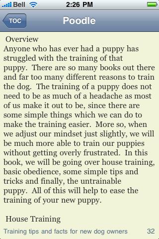 The Poodle Book screenshot #3