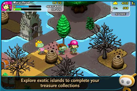 Zombie Isle screenshot #1