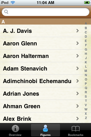 All Time Houston Football Roster screenshot #1