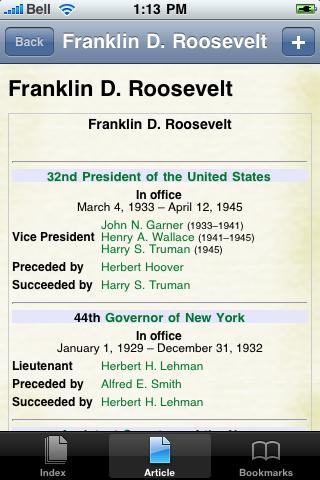 Franklin Roosevelt Study Guide screenshot #1