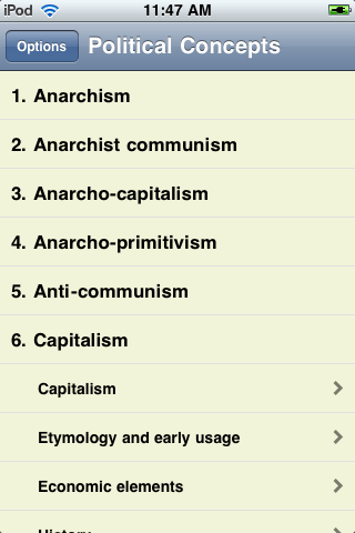 The Political Concepts Collection screenshot #3