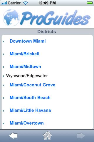 ProGuides - Miami screenshot #3