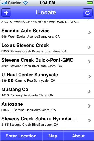 iLocate - Car Rentals screenshot #1