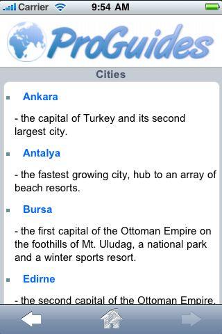 ProGuides - Turkey screenshot #3