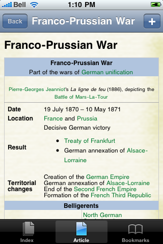 Franco Prussian War Study Guide screenshot #1