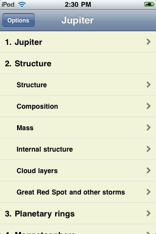 Jupiter screenshot #3