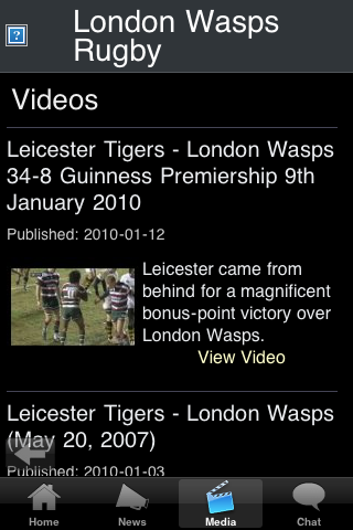 Rugby Fans - London WSP screenshot #2