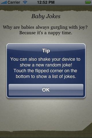 Baby Jokes screenshot #2