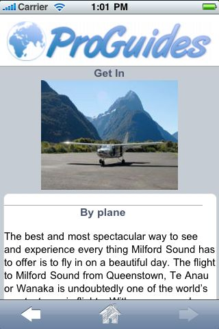 ProGuides - Milford Sound screenshot #3