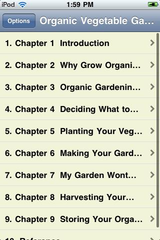 Organic Vegetable Gardening screenshot #1