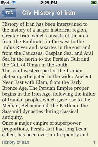 The History of Iran screenshot #2