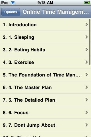 Online Time Management screenshot #2